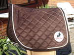 Brown Pony Pad