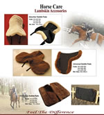 Lambskin Saddle Pads